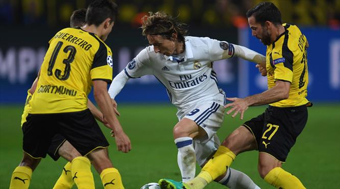 Borussia Dortmund - Real Madrid: 2-2