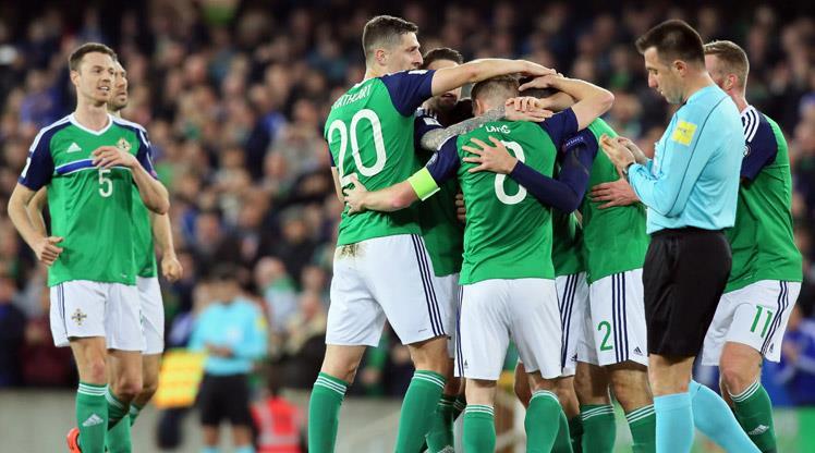 Göçek'in maçında zafer Kuzey İrlanda'nın