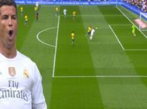 Uçtu uçtu Ronaldo uçtu!